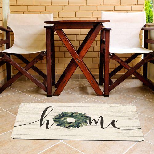 Wreath Home Comfort Mat Antique White 31 x 22