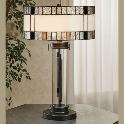 Enfren Table Lamp Aged Bronze