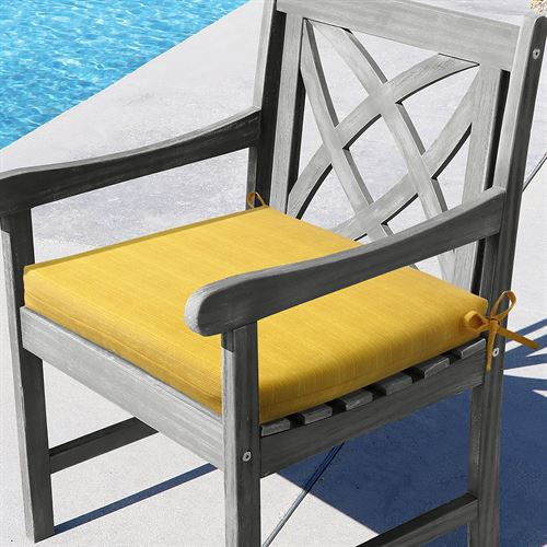 Portola Arm Chair Cushion Yellow