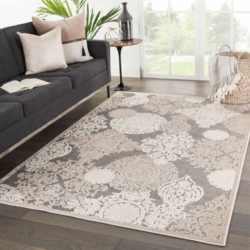 Basan Rectangle Rug Taupe