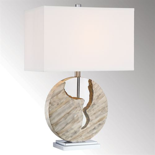 Zohran Table Lamp Multi Earth