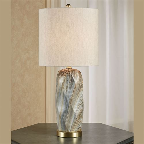 Cargill Table Lamp Multi Earth
