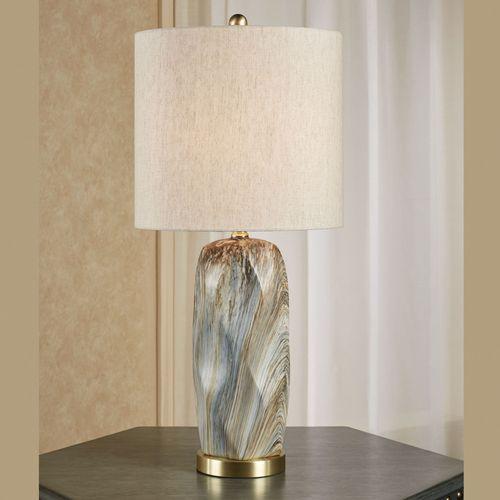 Cargill Table Lamp Multi Earth
