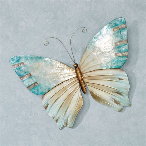 Calia Butterfly Wall Art Aqua