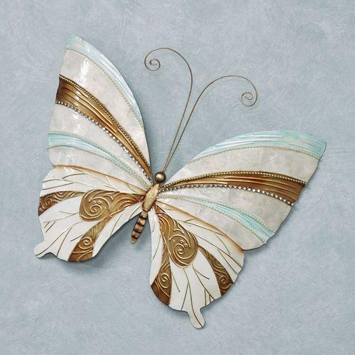 Idira Butterfly Wall Art Aqua