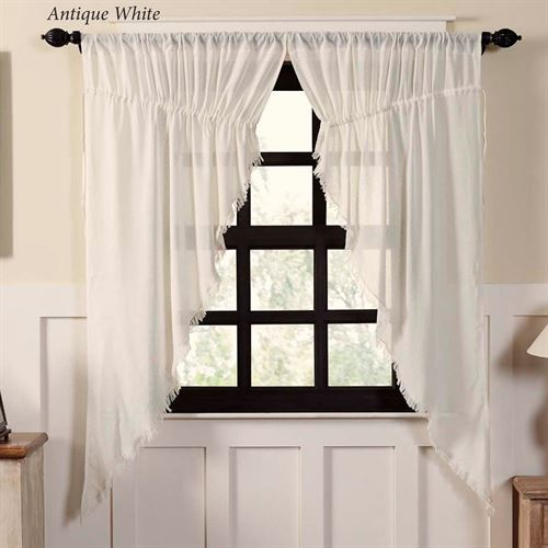 Tipton Semi Sheer Prairie Curtain Pair