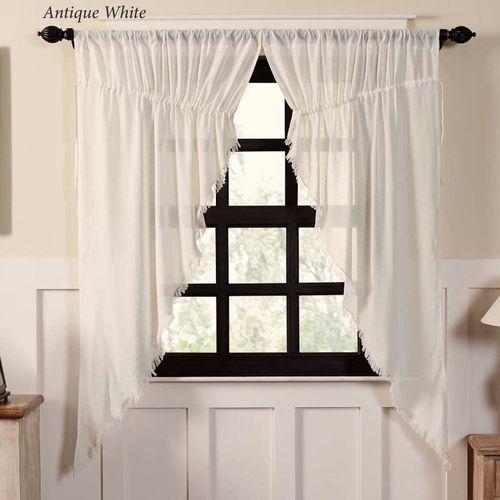 Tipton Semi Sheer Prairie Curtain Pair