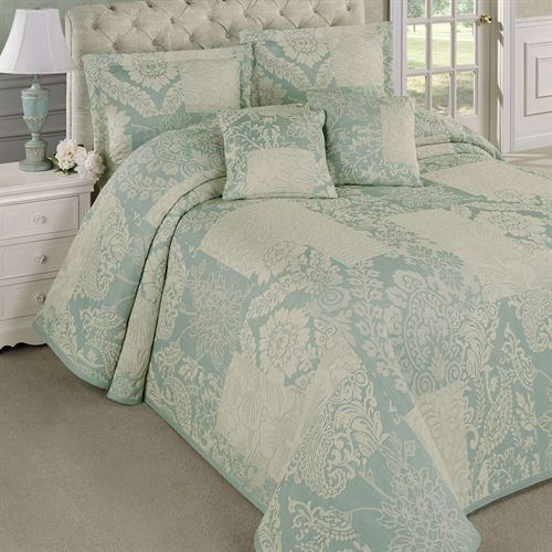 Maisonette Bedspread Blue