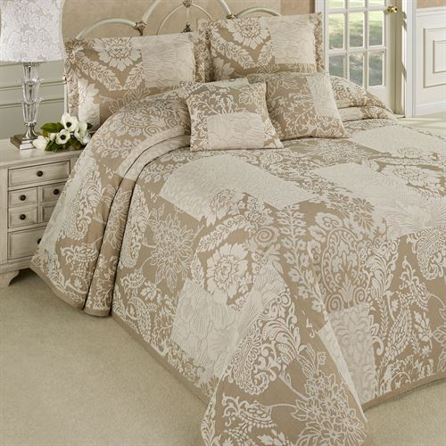 Maisonette Bedspread Taupe