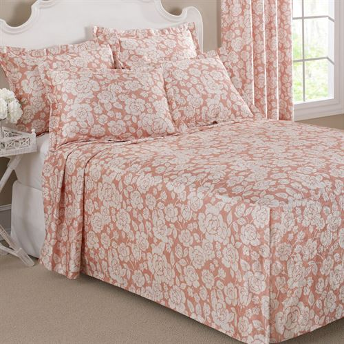 Floral Grace Fitted Bedspread