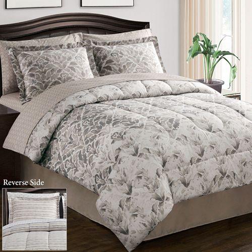 Verano Comforter Bed Set Ecru