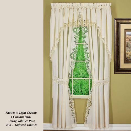 Adriel Tailored Curtain Pair