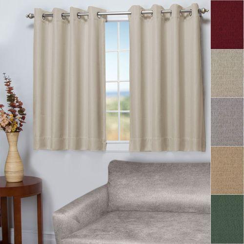 Worthington Short Grommet Curtain Panel