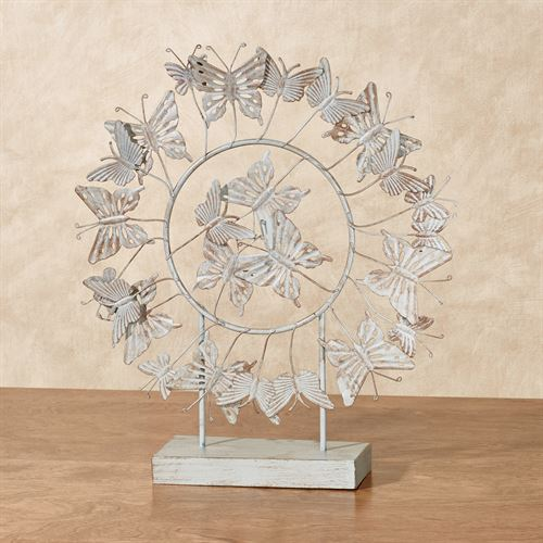 Butterfly Tabletop Accent Multi Warm