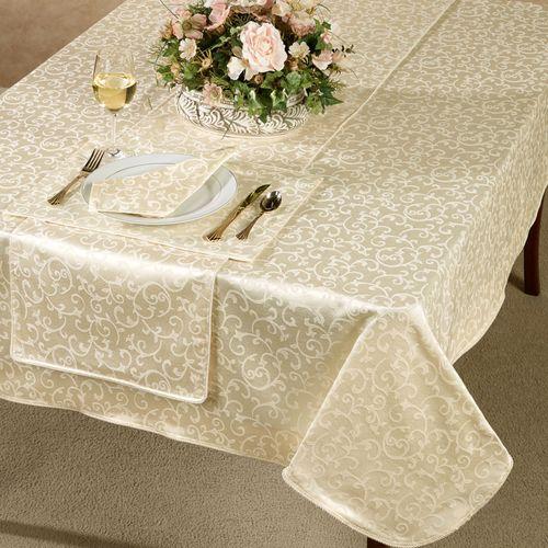 Opal Innocence Oblong Tablecloth