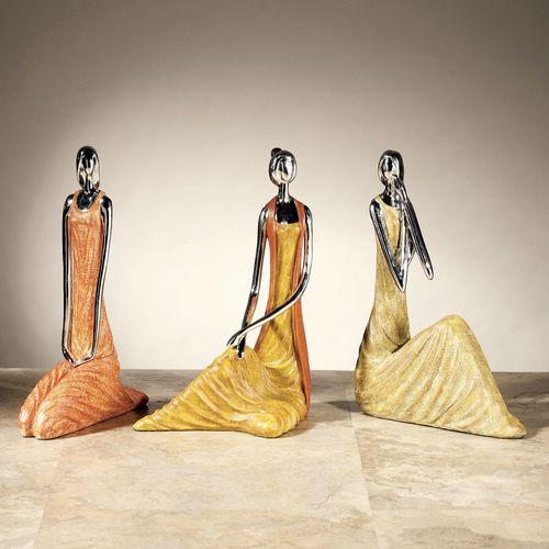Sisterhood Sculpture Set of Three