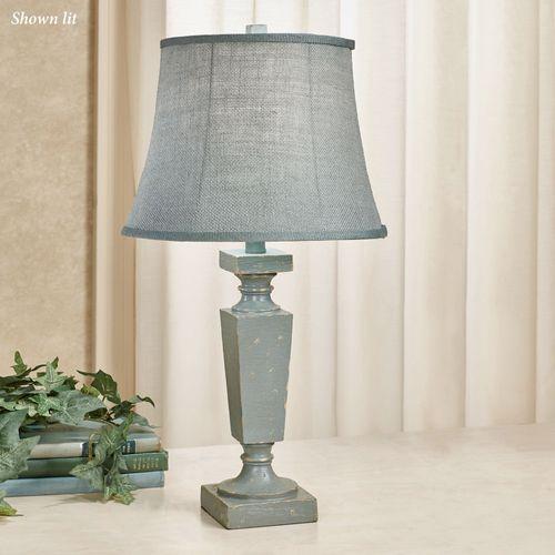 Claudine Table Lamp Pale Aqua