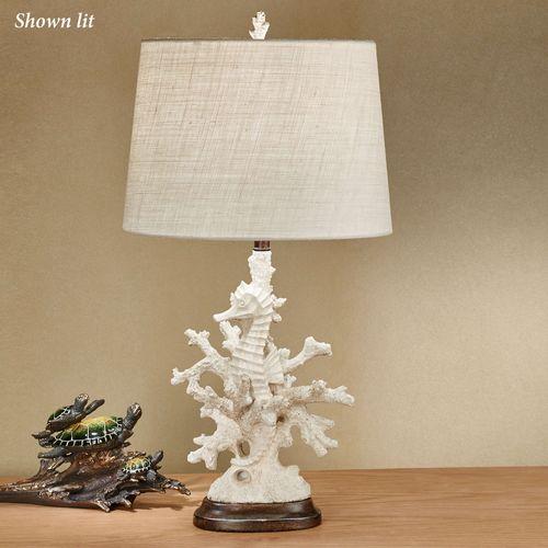 Seren Seahorse Table Lamp Natural