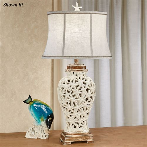 Superbe Praia Starfish Table Lamp Natural