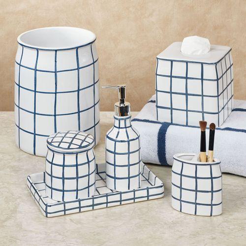 Keagan Lotion Soap Dispenser Indigo