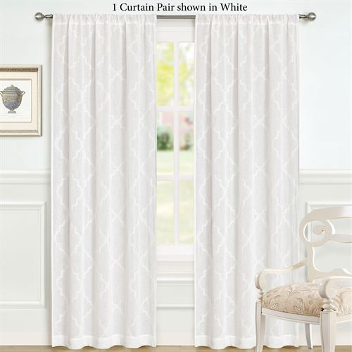 Windsor Semi Sheer Curtain Pair
