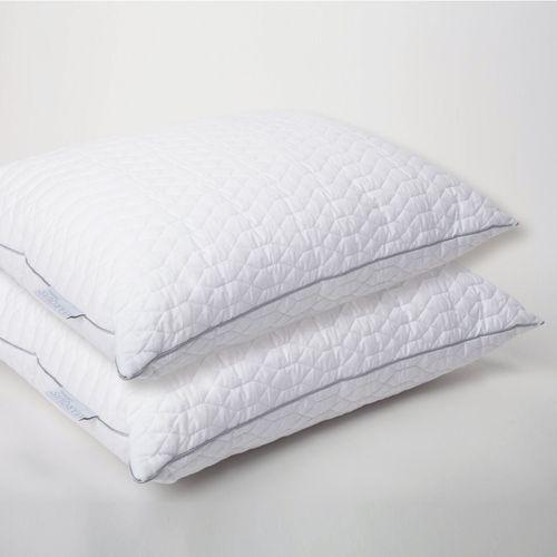 Marquis Raindrop Jumbo Sleep Pillows Off White Set of Two