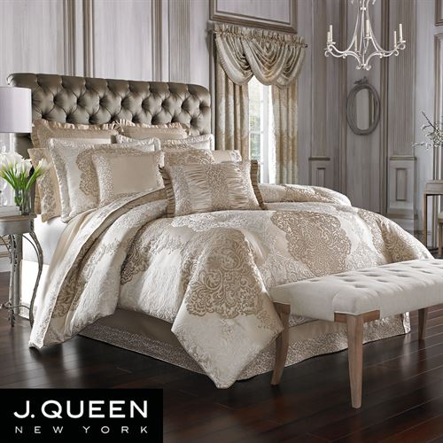 La Scala Comforter Set Fawn