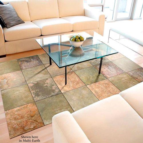 Faux Tile FoFlor Mat 56 x 310