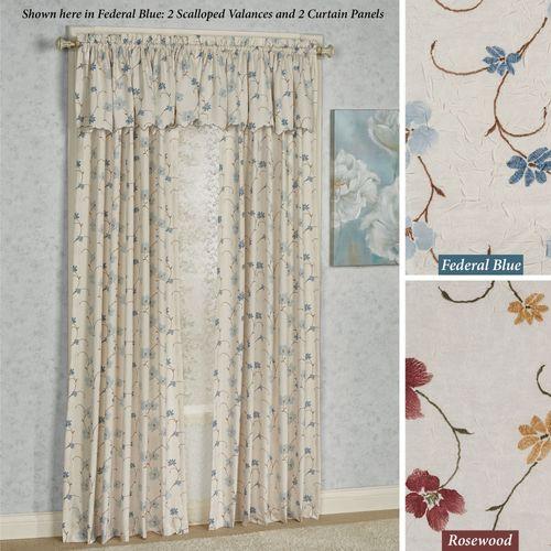 Lila Tailored Curtain Panel