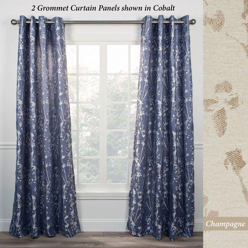 Harlen Grommet Curtain Panel