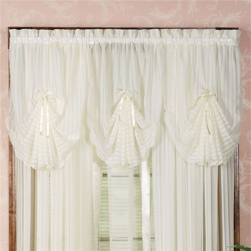 Nimbus Stripe Fan Valance