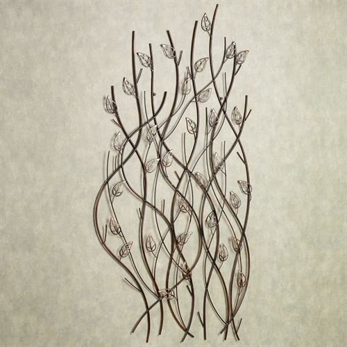 Whispering Vines Wall Sculpture Old World Bronze