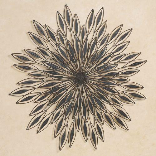Inner Vision Metal Wall Sculpture Dark Brown