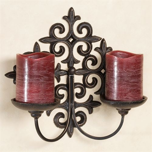 Aleighta Double Wall Sconce Black