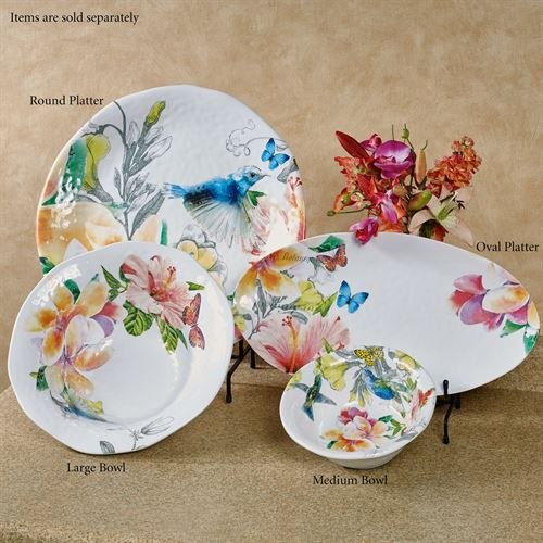 Paradise Medium Bowl Multi Bright