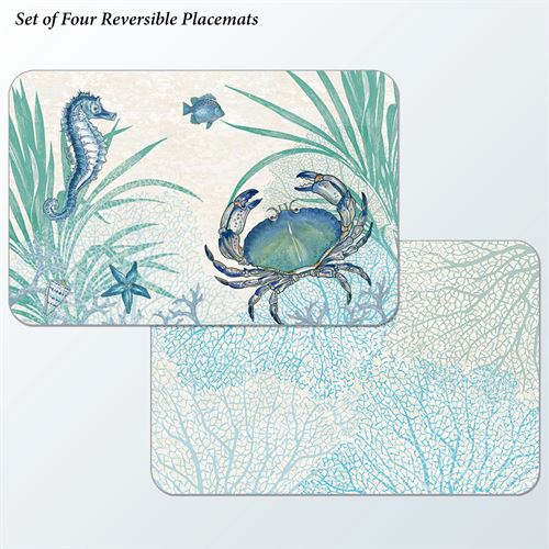 Oceana Placemats Multi Cool Set of Four