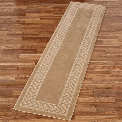 Manchester Herringbone Long Rug Runner 2 x 9
