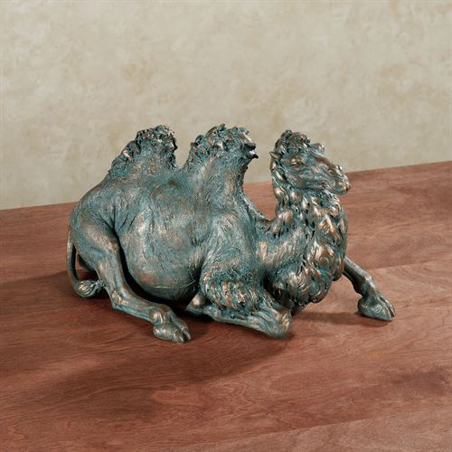Camel Table Sculpture Bronze