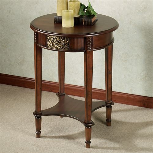 Sarantino Round Accent Table