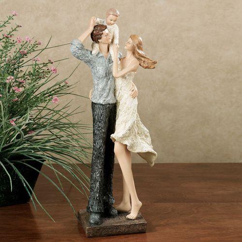 Treasured Family Moments Figurine Ivory