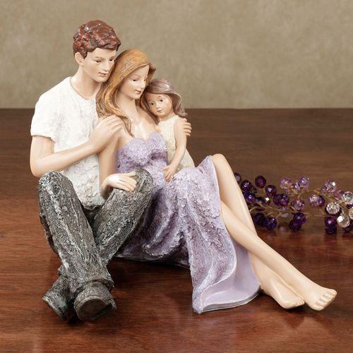 Precious Love Figurine Light Amethyst
