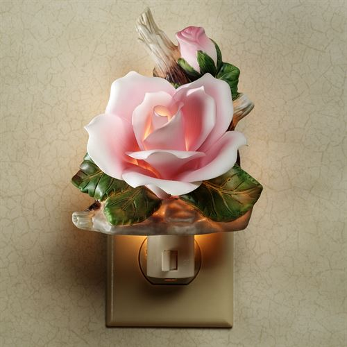Pink Rose Nightlight