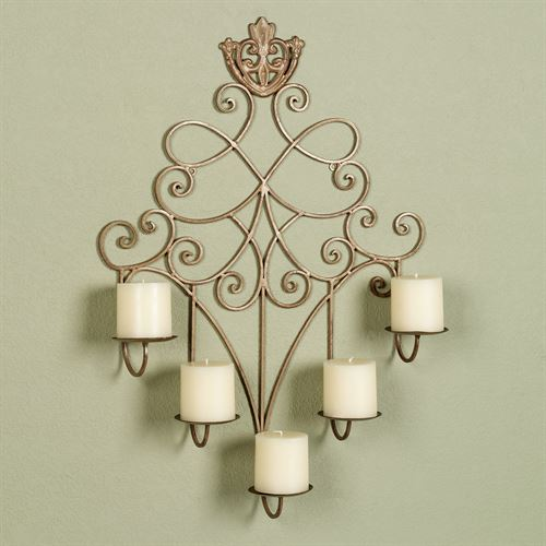 Laurenza Wall Candelabra Satin Gold