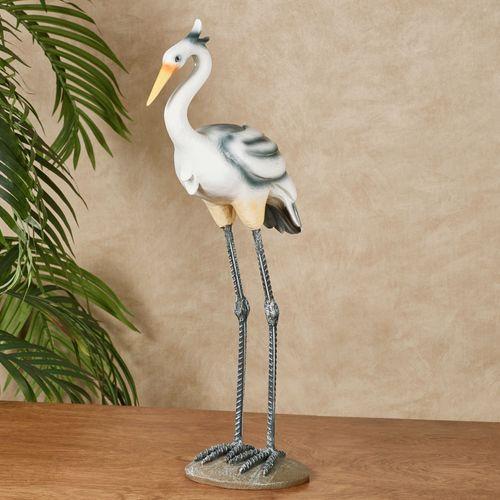Heron Sculpture White