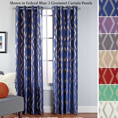 Stanton Grommet Curtain Panel 55 x 84