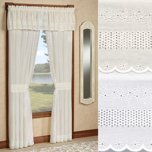 Danielle Tailored Curtain Pair