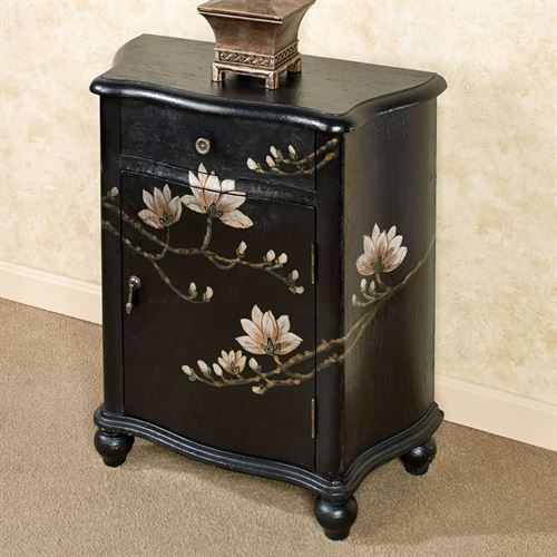 Tamra Storage Cabinet Black