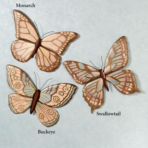 Swallowtail Butterfly Wall Art Multi Pastel
