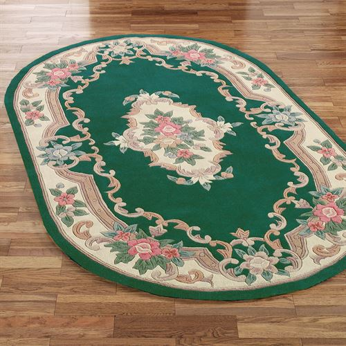Serena Aubusson Oval Rug