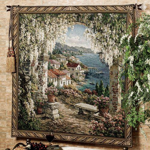 Seaview Hideway Wall Tapestry